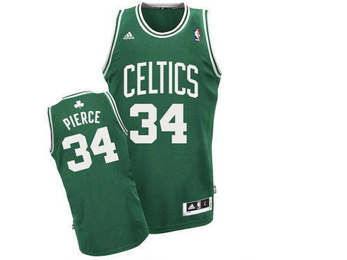 c120f70334b Boston Celtics Paul Pierce Green Away Adidas Swingman Jersey. Quick view. Adidas  NBA Swingman