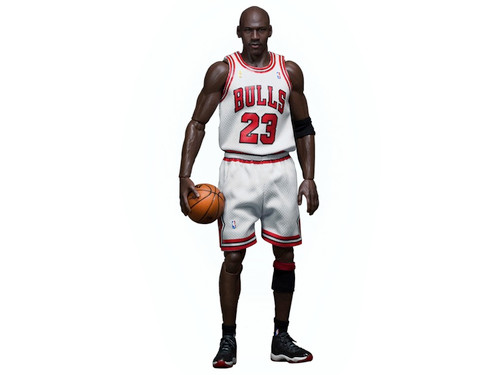 Michael Jordan #23 White Home Jersey 1/6th Scale Figure