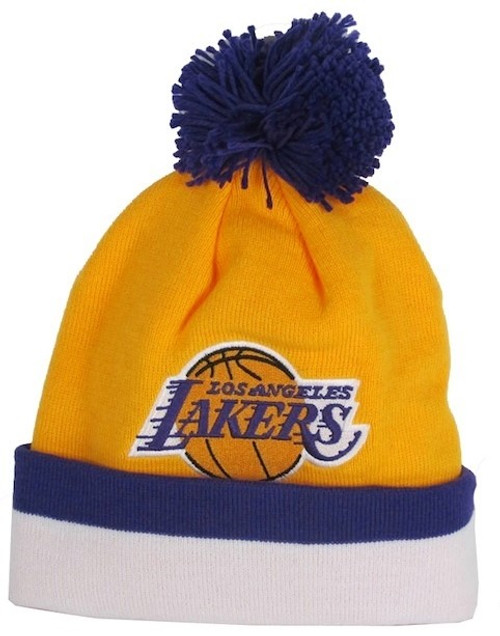 Los Angeles Lakers Mitchell & Ness Beanie Hat