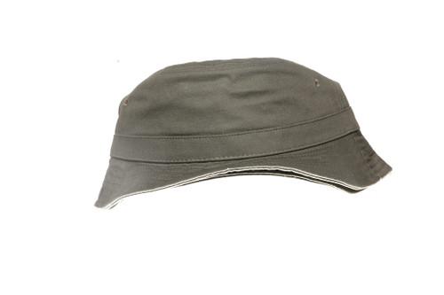 Green Core Blank Unbranded Bucket Hat