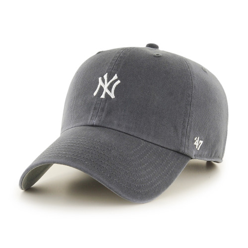New York Yankees Vintage Small Logo 47Brand MLB Strapback Clean Up Hat