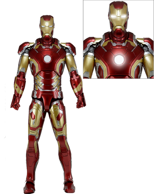 Avengers 2: Age of Ultron - Iron Man Mark 43 1:4 Scale Action Figure
