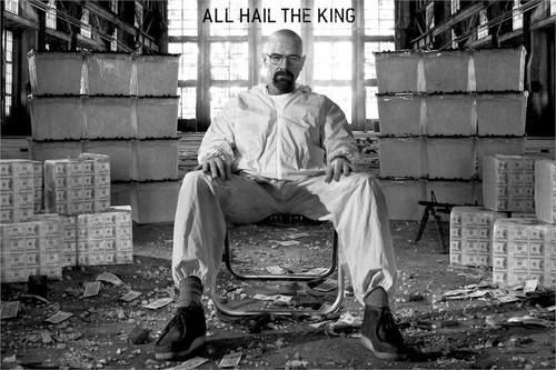 Breaking Bad - All Hail The King Blockmount Wall Hanger