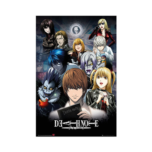 Death Note Small Blockmount Wall Hanger