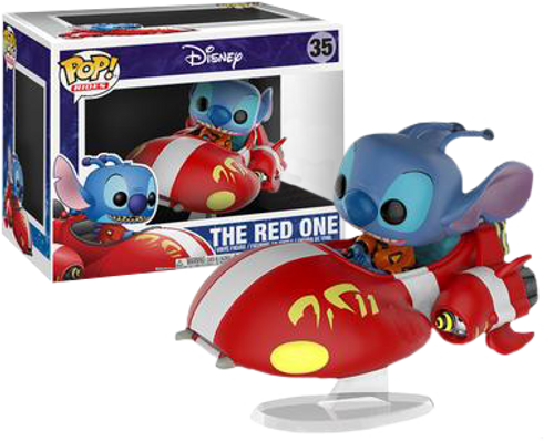 Lilo and Stitch - The Red One with Stitch US Exclusive Pop! Ride Vinyl Figure