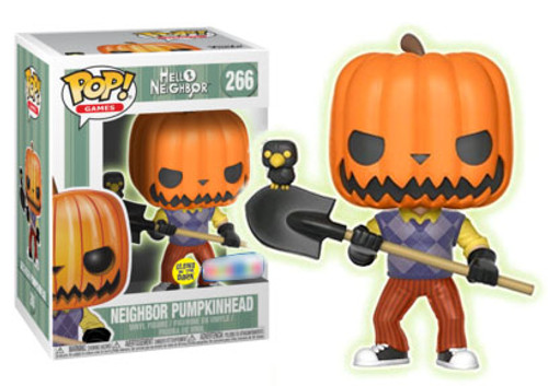 Hello Neighbor - The Neighbor Pumpkin Head Glow Pop! Vinyl Figure