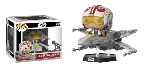 Star Wars - Luke Skywalker in X-Wing Deluxe Pop! Vinyl Figure