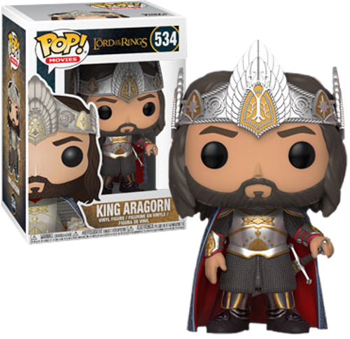 Lord of the Rings - King Aragorn US Exclusive Pop! Vinyl Figure
