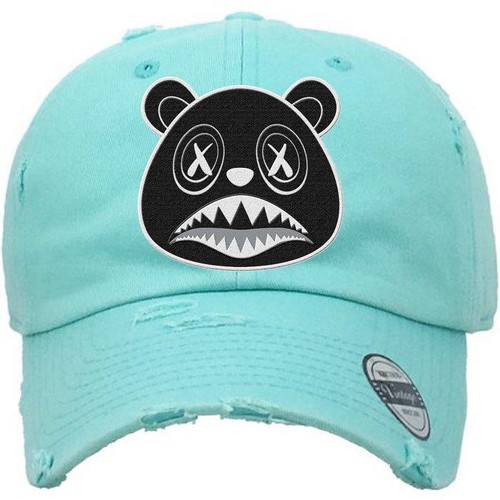 BAWS Bear Black Logo Mint Green Dad Hat