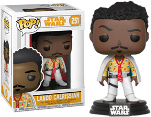 Star Wars: Solo - Lando Calrissian in White Suit US Exclusive Pop! Vinyl Figure