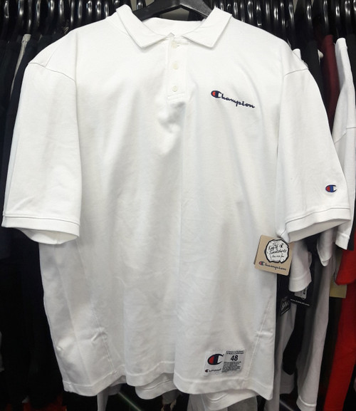 Champion Reverse Weave Polo White T-Shirt