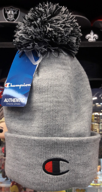 Champion Beanie PomPom Grey