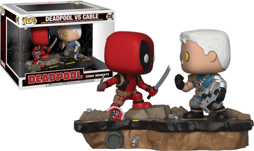 Deadpool Domino Pop Vinyl Figure