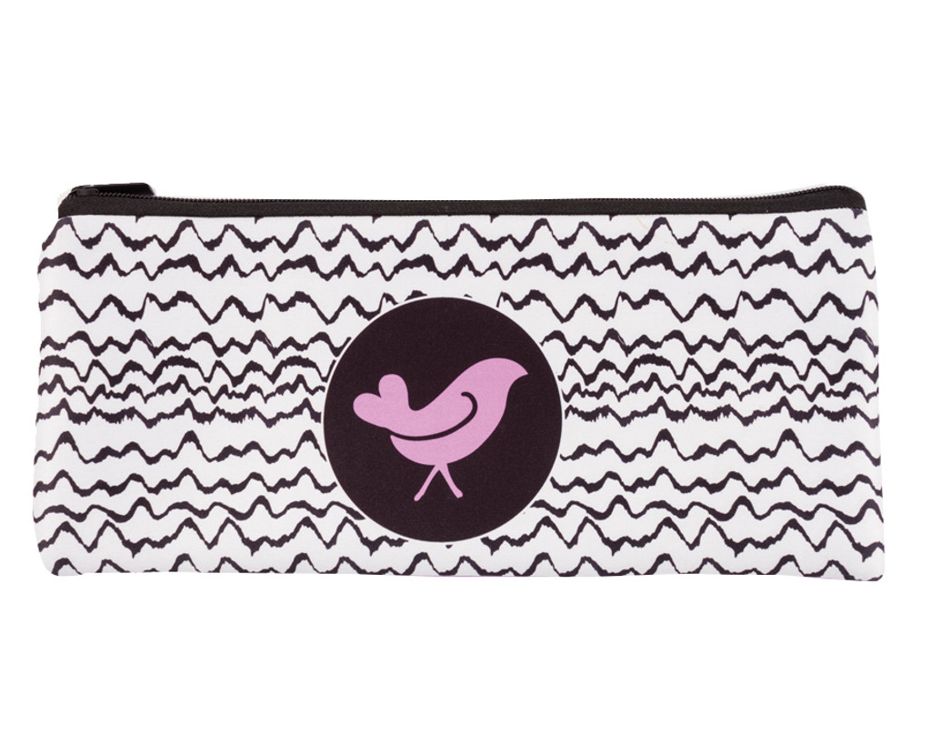 Ladies Summer Day Pencil Case - Violet
