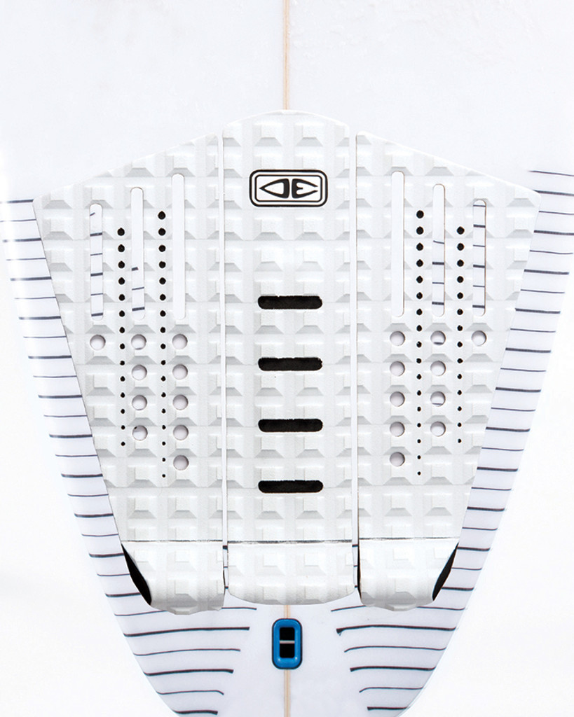 Future-ready outline shapes with a combination of slots and multi-directional traction patterns.