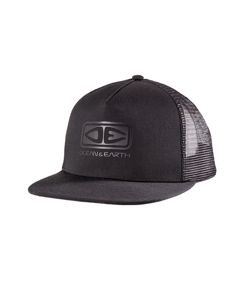 Logo Trucker Cap - Black
