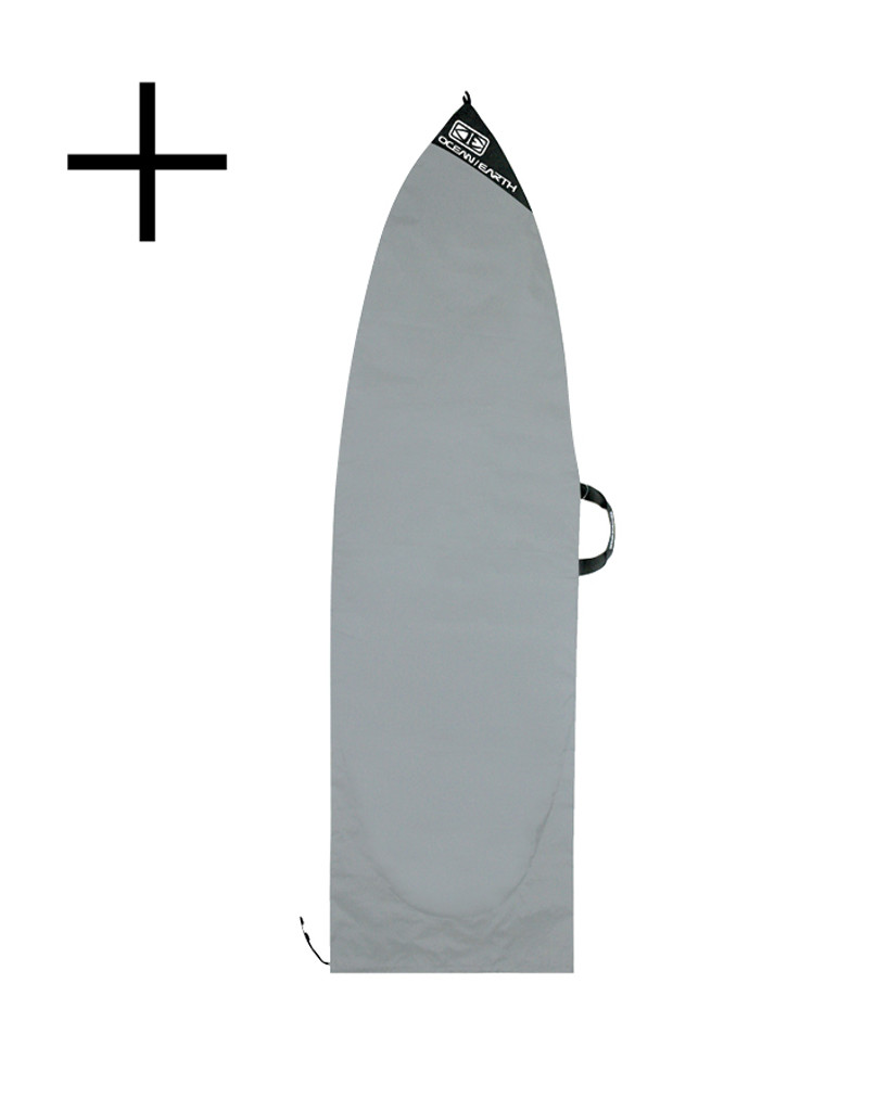 Triple Coffin Shortboard Board Cover