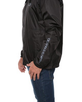 Big Mens Elements Wind Or Shower Jacket - Black