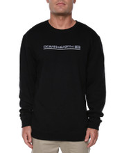 Big Mens Priority Crew Sweat - Black