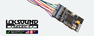 LOKSOUND 73400  SELECT AUX6 DCC/SOUND (HO) DECODER