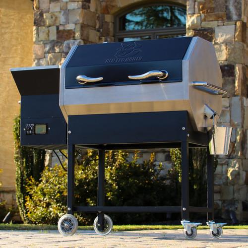 Stampede Rt 590 Wood Pellet Grill Rec Tec Grills