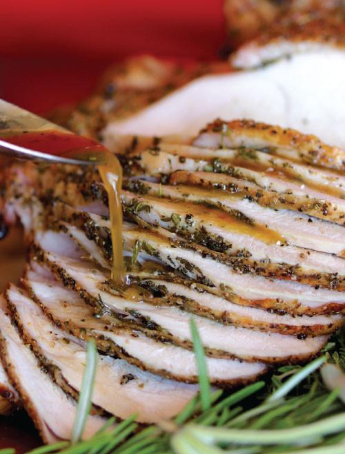 Savory Roasted Turkey T