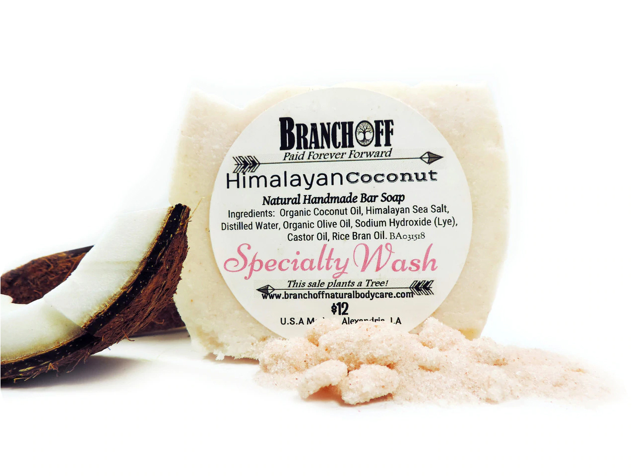 Himalayan Sea Salt Soaps