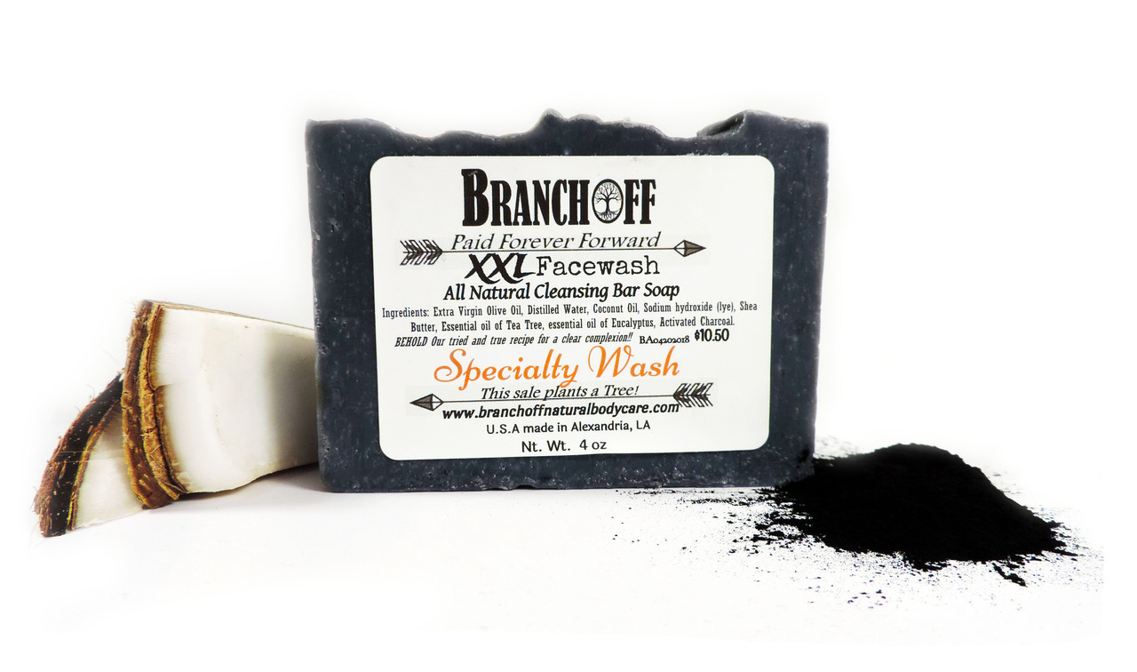 XXL Activated Charcoal Facewash