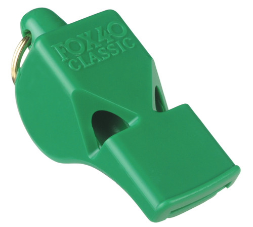 Fox 40 Classic Green Whistle