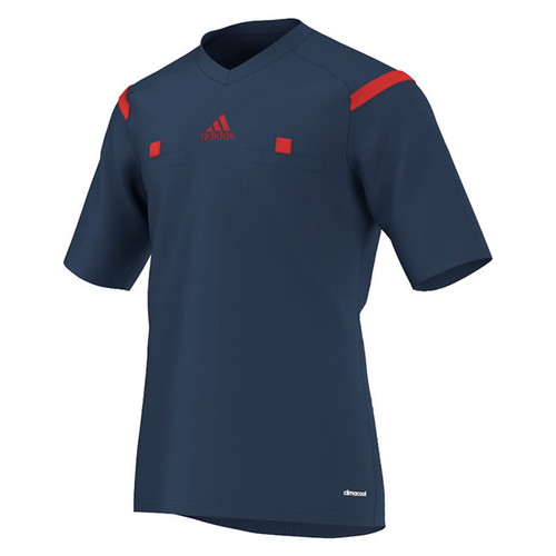 2014 Adidas Referee Jersey Short Sleeve (Collegiate Navy)