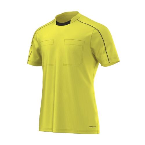 2016 Adidas Referee Jersey Short Sleeve (Shock Yellow)