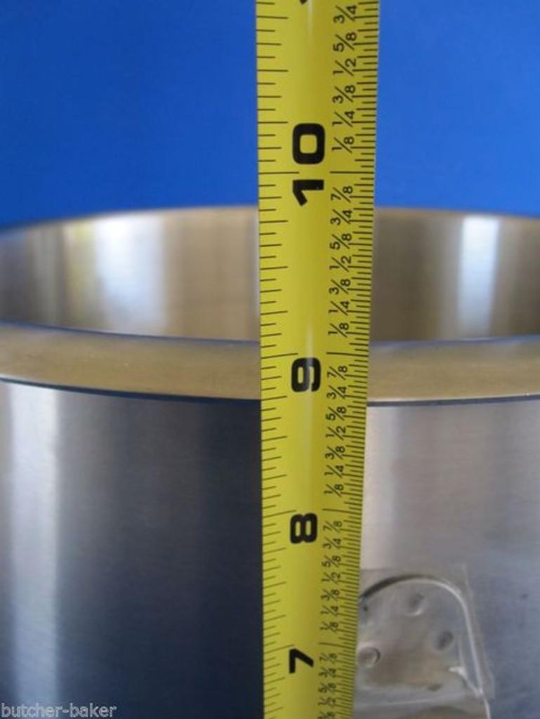 12 Qt Quart Stainless Steel dough Mixer Bowl for Hobart a120 120t a120 120