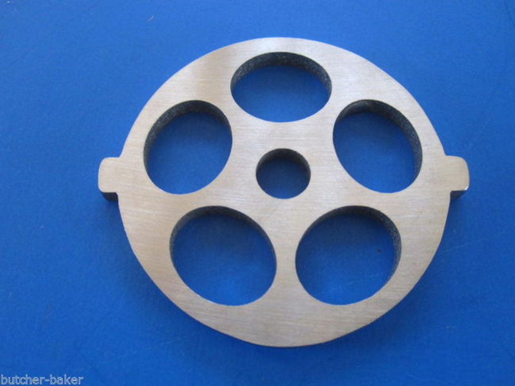 """Meat Grinder plate disc for new FGA KitchenAid Mixer Food Chopper 5/8"""" holes"""