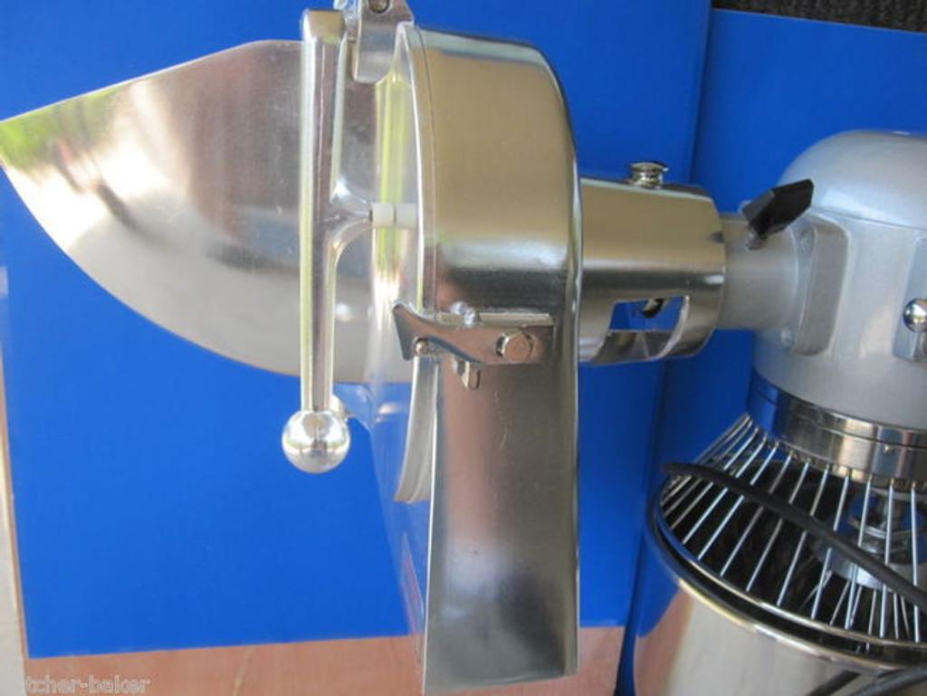 "1/4"" Cheese Vegetable Grater Shredder Discs for Hobart Pelican Head Chopper etc"
