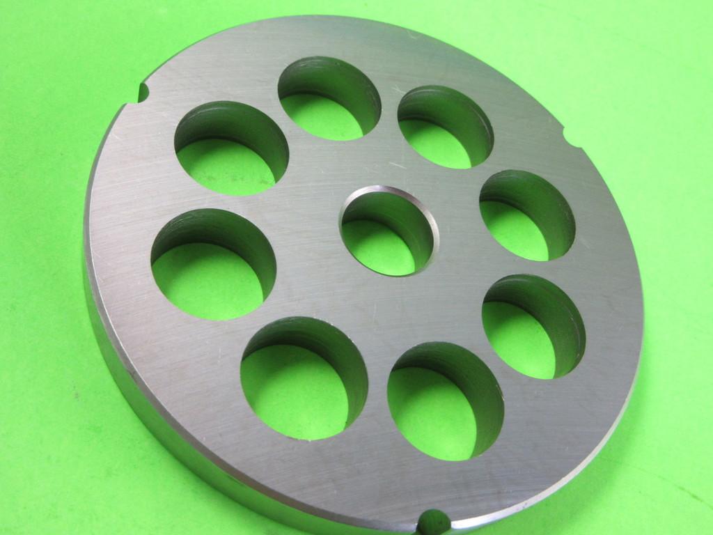 "42 x 1"" (25mm) holes Meat Grinder Plate Screen Cabelas Carnivore 1 3/4 HP"