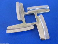 *TWO* SHARP Replacement KNIFE Blades for Electric Back To Basics Meat Grinder