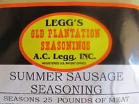 SUMMER SAUSAGE Seasoning AND CASINGS for 25 lbs.  Just add Venison, Elk, Pork