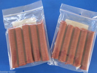 50 Lbs Snack Stick CASINGS  21mm Edible BEEF Collagen Slim Jims Pepperoni sausage