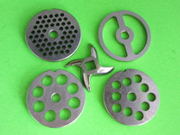 #5 (5) pc COMBO SET Meat Grinder Grinding plate disc knife blade sausage stuffer
