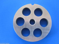 """#12 x 5/8"""" holes STAINLESS Meat Food Grinder Mincer Chopper plate disc screen"""
