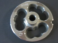 #12 stainless steel sausage stuffing plate