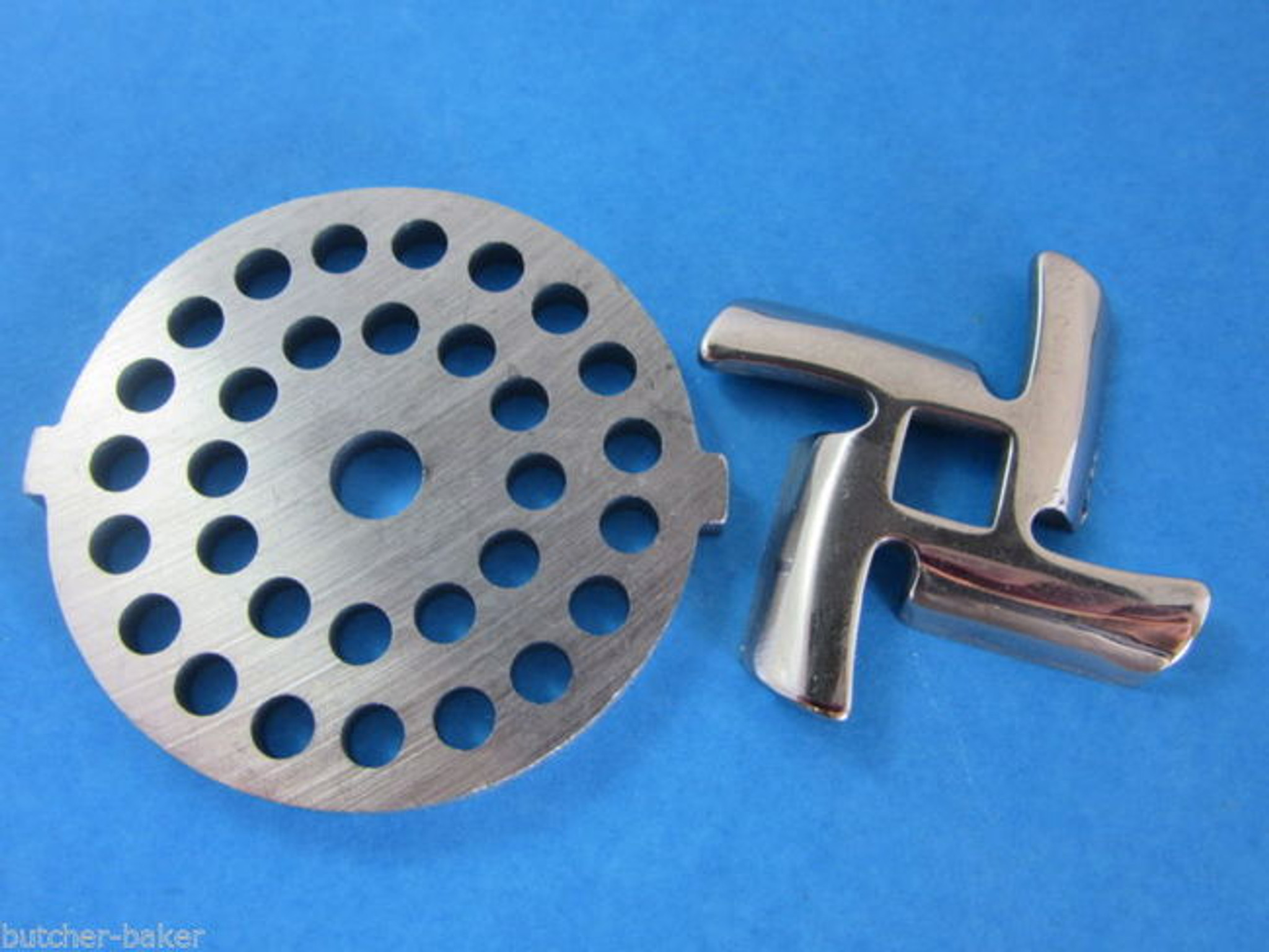 3 16 Quot Meat Grinder Plate Disc Amp Knife For Waring Pro Oster