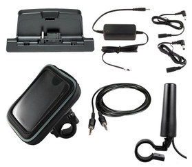 Sirius Radio Motorcycle Kit with Hardwired Power Adapter SMFGX1