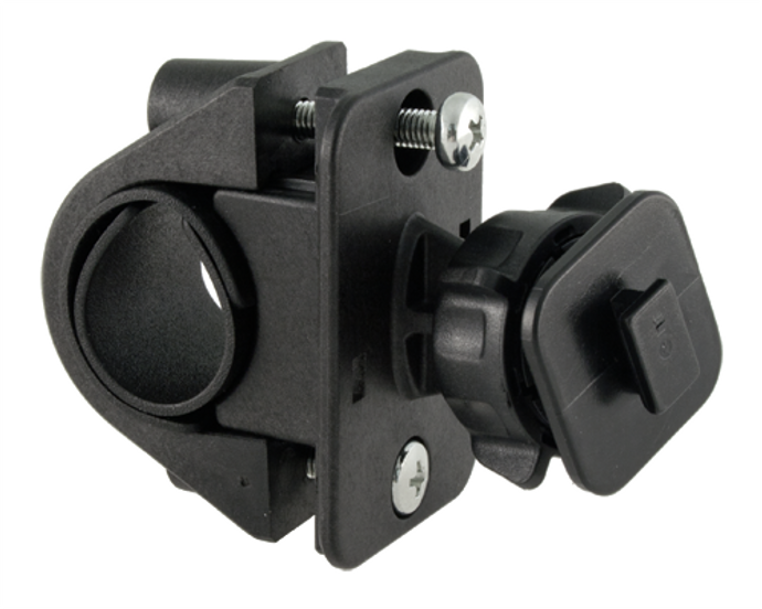 SIRIUS and XM Radio receiver mount for motorcycles and bicycles