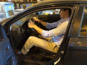 Mazda Mirage Cramped