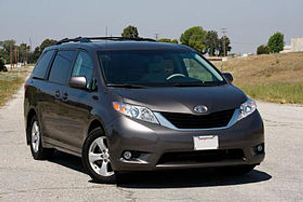 Toyota Sienna legroom