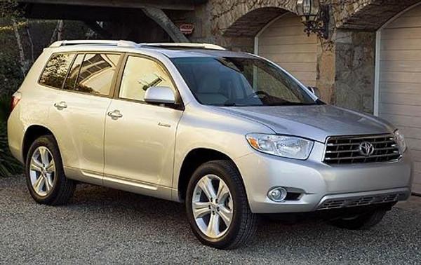 2008-2013 Toyota Highlander Seat Extenders
