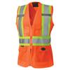 Safety Orange - 136 Hi-Viz Women's Safety Vest
