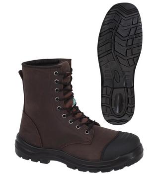 1028 Leather 8 Inch Work Boot