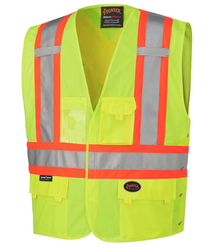 Safety Yellow - 131 Hi-Viz Safety Vest